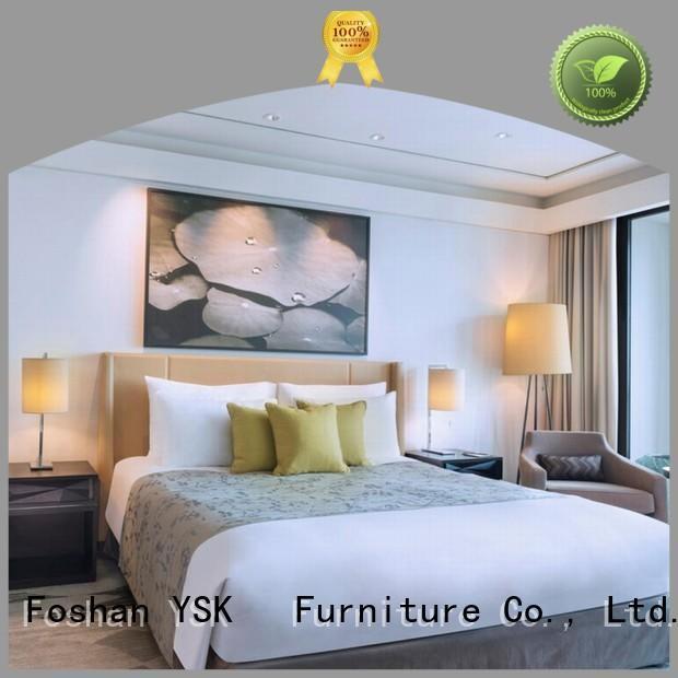 YSK Furniture business stylish hotel room furniture designs wholesale modern bedroom