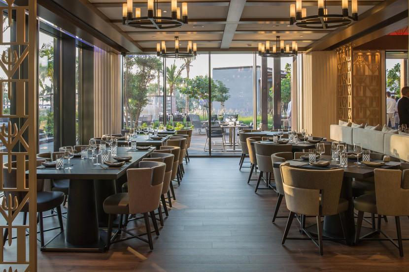 modern restaurant furniture plywood dining furniture-1