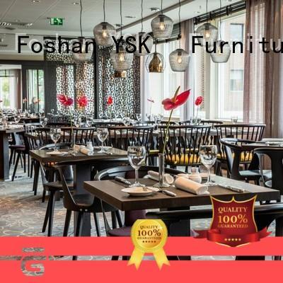 restaurant furniture design plywood five star hotel YSK Furniture