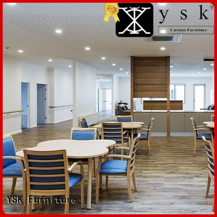 YSK Furniture healthcare furniture for assisted living apartments at discount room decoration