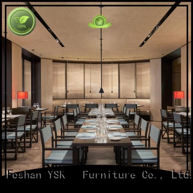 YSK Furniture solid wood restaurant furniture high quality five star hotel