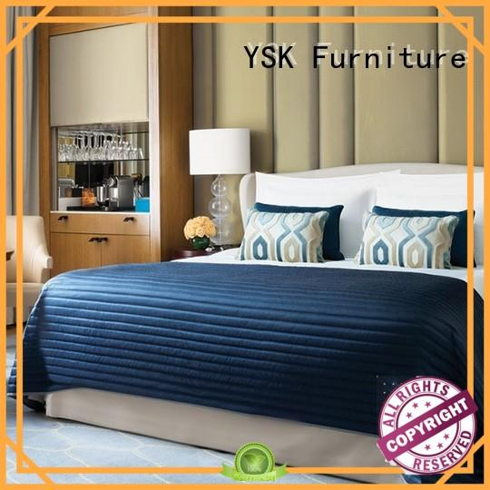 YSK Furniture wholesale modern hotel furniture master hotels room