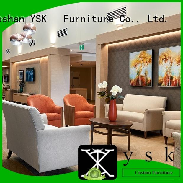 YSK Furniture factory price aged care furniture homes facility community