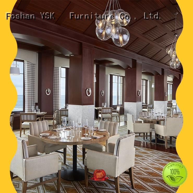 YSK Furniture upholstery restaurant furniture plywood dining furniture