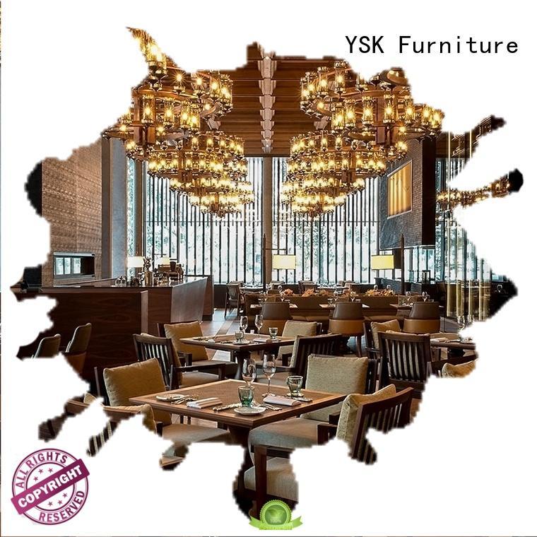 YSK Furniture commercial modern restaurant furniture stylish made ship furniture