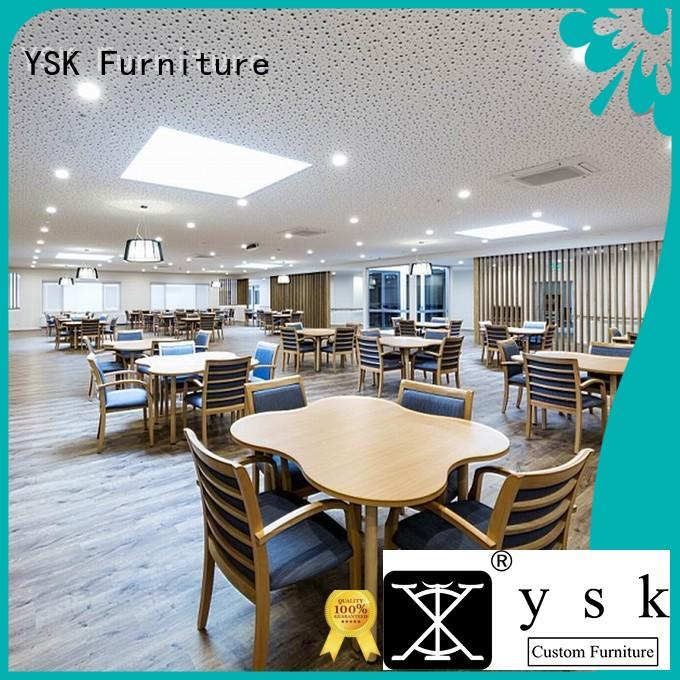 YSK Furniture wooden furniture for assisted living facilities premier senior age
