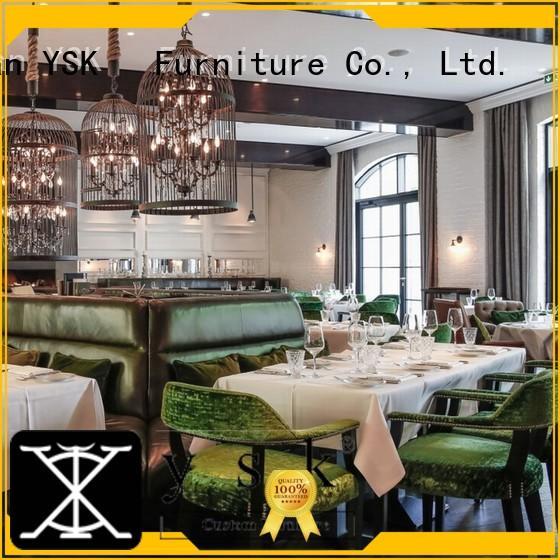 YSK Furniture modern restaurant furniture interior restaurant furniture