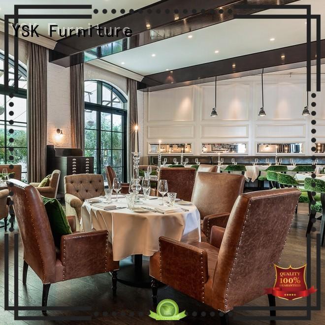 YSK Furniture modern style contract restaurant furniture interior restaurant furniture