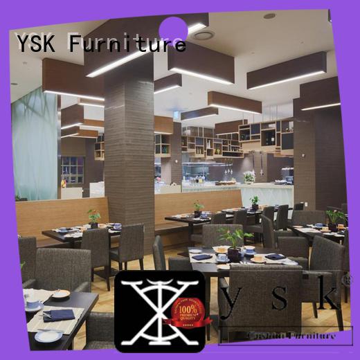 YSK Furniture contemporary contract restaurant furniture latest restaurant