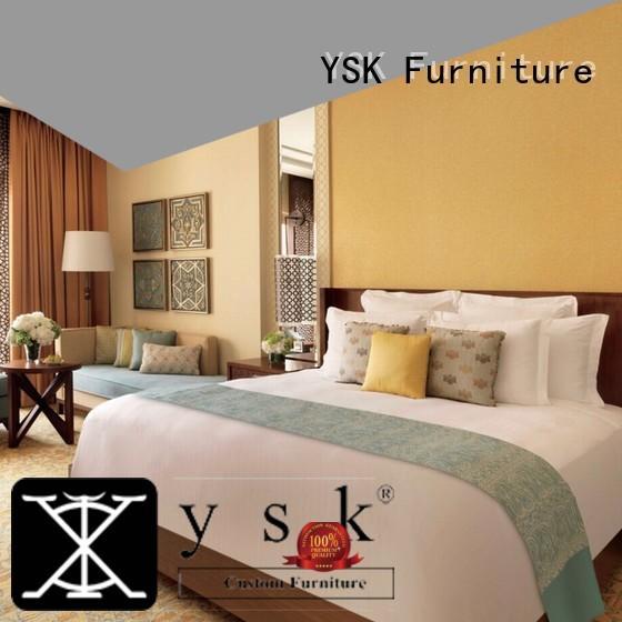 YSK Furniture deluxe hotel room set hot-sale for furniture