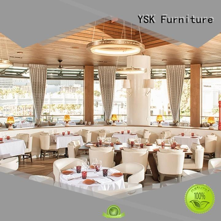 contract cruise luxury restaurant furniture interior restaurant furniture YSK Furniture