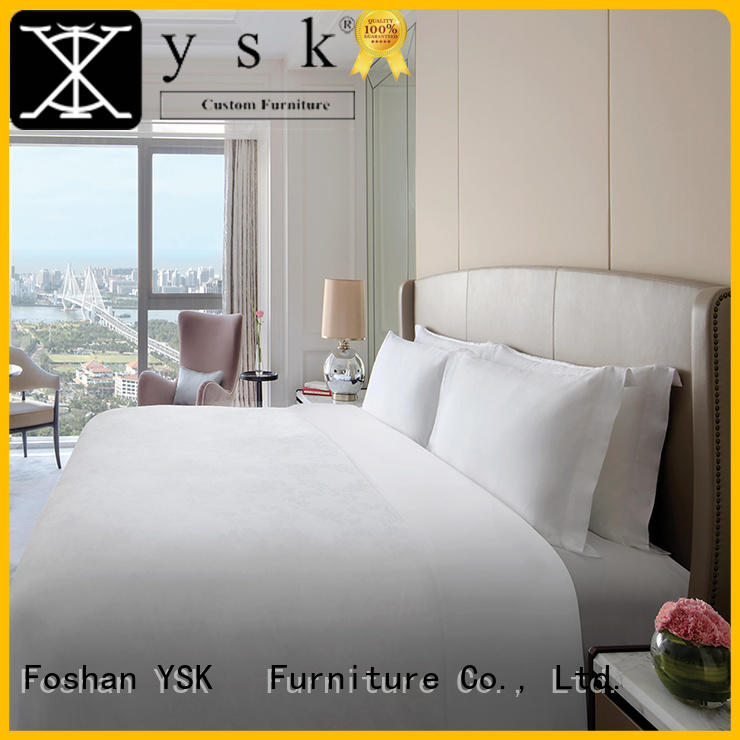 YSK Furniture contemporary hotel table and chairs resort
