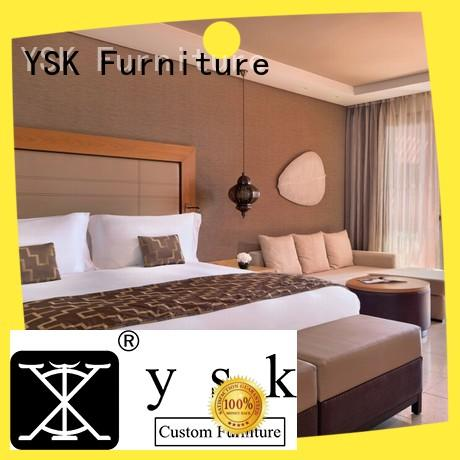 YSK Furniture factory price modern apartment furniture inquire now bedroom decoration