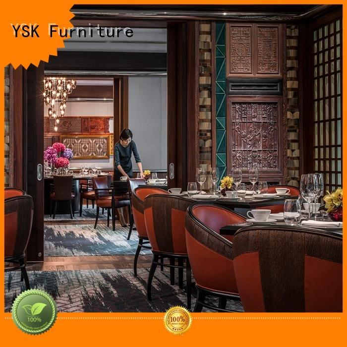 YSK Furniture customize contract restaurant furniture high quality restaurant furniture