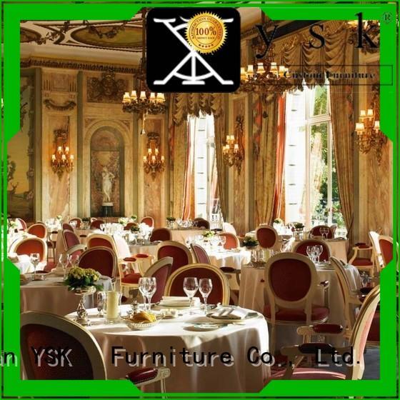 YSK Furniture upholstery custom restaurant furniture stylish made five star hotel