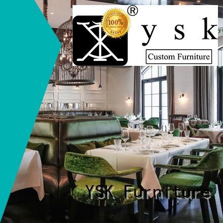 YSK Furniture project custom restaurant furniture luxury dining furniture
