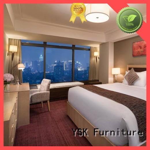 YSK Furniture wholesale luxury hotel furniture interior hotels room