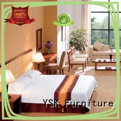 YSK Furniture business high end hotel furniture twin for furnishings