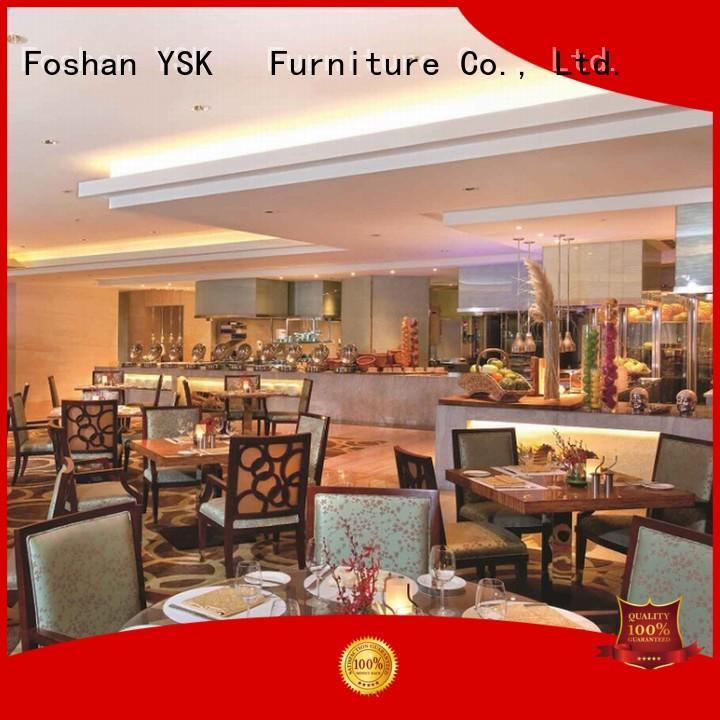 YSK Furniture restaurant furniture high quality dining furniture
