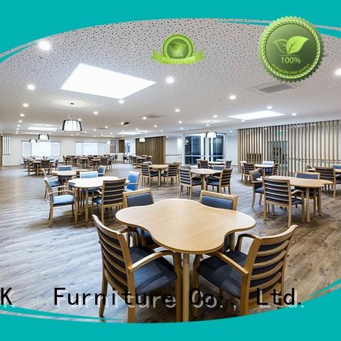 YSK Furniture aged care retirement home furniture quality facility community
