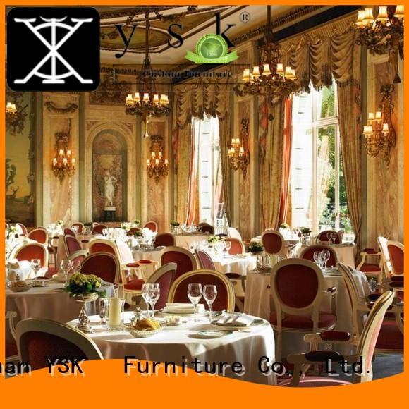 YSK Furniture Chinese restaurant restaurant furniture design stylish made dining furniture