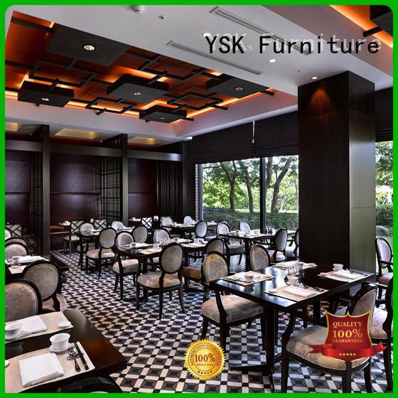 YSK Furniture customization contract restaurant furniture stylish made ship furniture