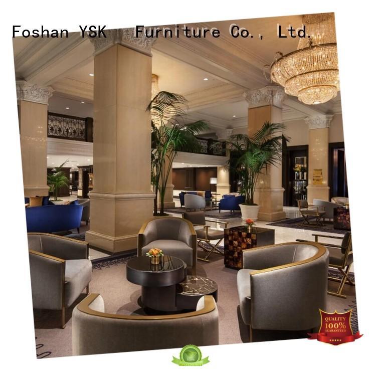 YSK Furniture high grade custom club furniture end for bedroom