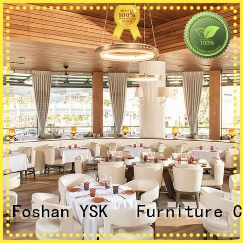 YSK Furniture high-end contract restaurant furniture Chinese restaurant dining furniture