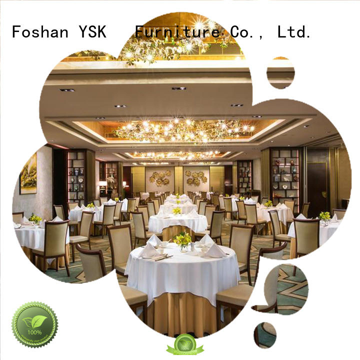 YSK Furniture deluxe design contract restaurant furniture plywood dining furniture