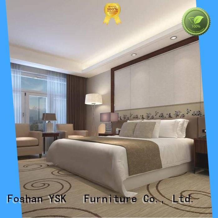 YSK Furniture deluxe hotel furniture manufacturers king modern bedroom