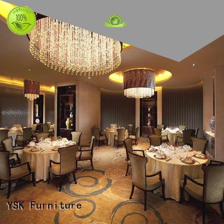 deluxe design contract restaurant furniture solid wood high quality five star hotel
