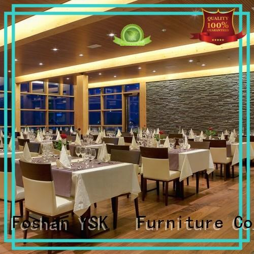 YSK Furniture restaurant furniture sets stylish made five star hotel
