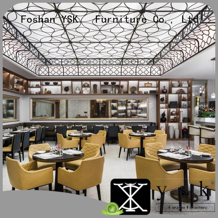 YSK Furniture wooden restaurant furniture design interior ship furniture