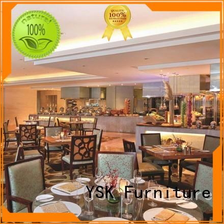 YSK Furniture Chinese restaurant custom restaurant furniture plywood five star hotel