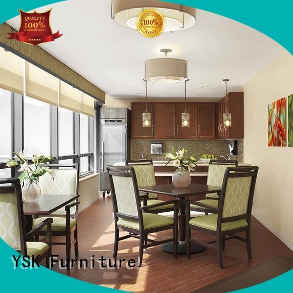 low cost furniture for assisted living apartments design senior age YSK Furniture