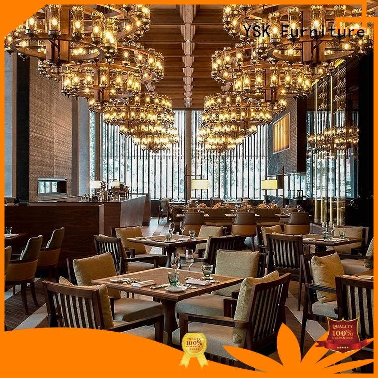 YSK Furniture commercial restaurant furniture high quality five star hotel