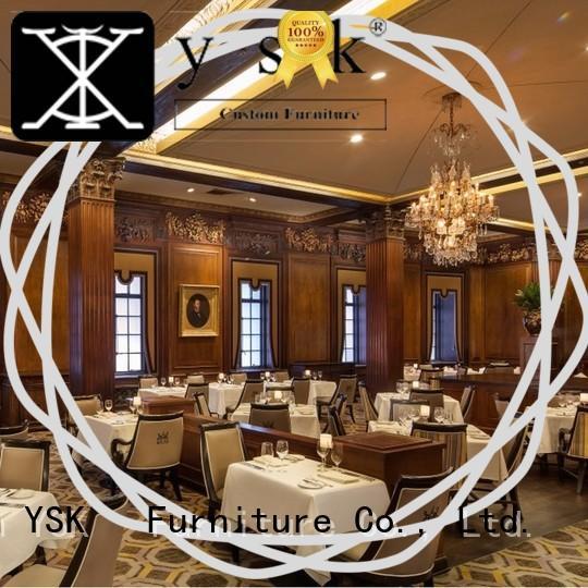 YSK Furniture restaurant furniture modern style five star hotel