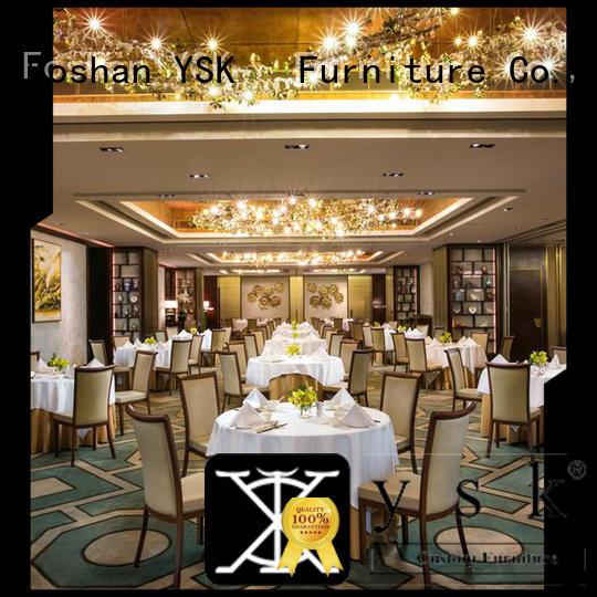 YSK Furniture modern style luxury restaurant furniture stylish made restaurant furniture