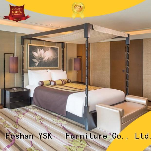 YSK Furniture contemporary hotel room furniture master project