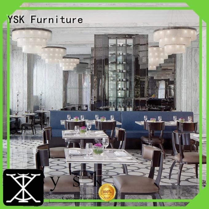 YSK Furniture Chinese restaurant contract restaurant furniture interior ship furniture