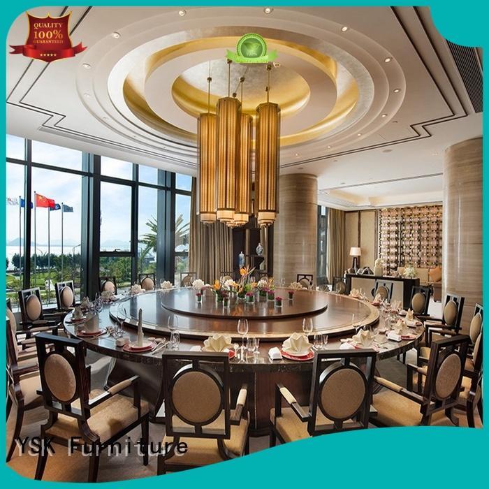 commercial restaurant furniture design plywood dining furniture YSK Furniture