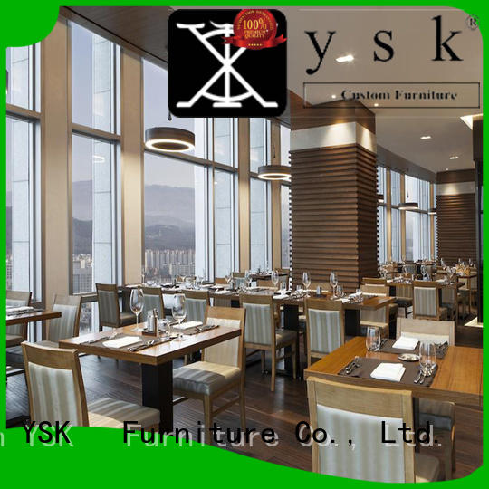 modern style contract restaurant furniture plywood ship furniture YSK Furniture