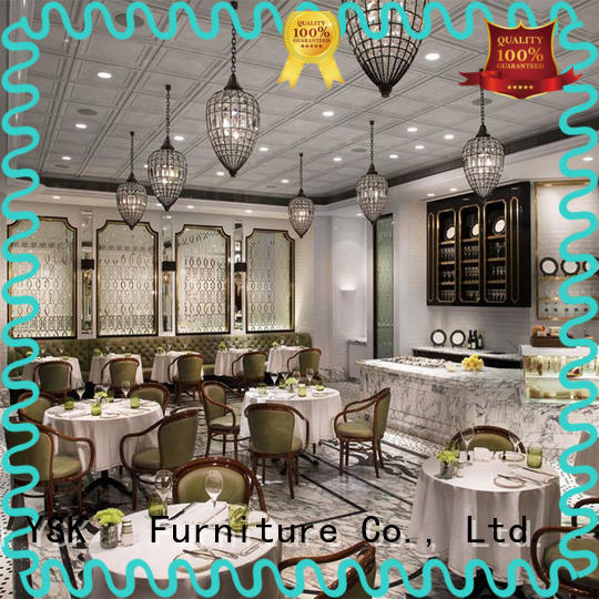 YSK Furniture restaurant furniture plywood five star hotel