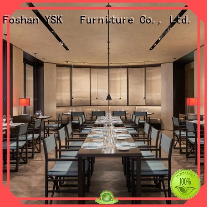 YSK Furniture modern style modern restaurant furniture plywood ship furniture