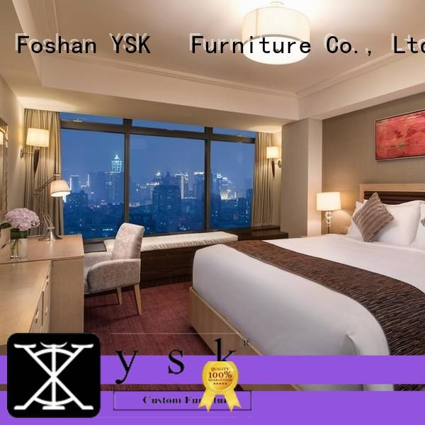 YSK Furniture latest hotel lobby furniture wooden project