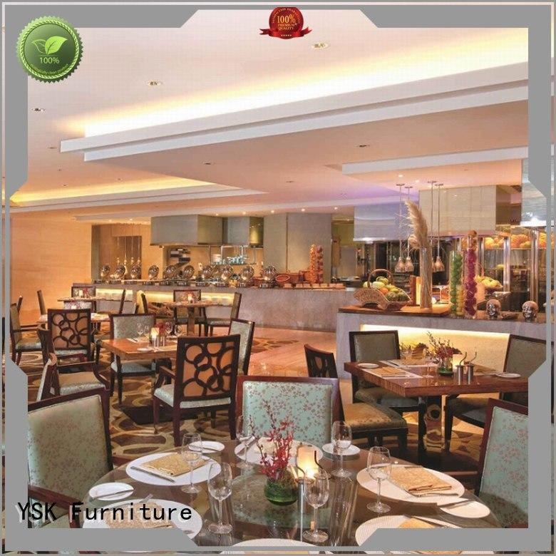 YSK Furniture contemporary restaurant furniture manufacturers stylish made five star hotel