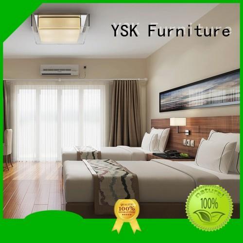 YSK Furniture luxury modern hotel furniture guest