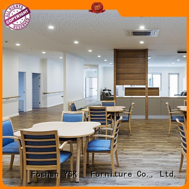 YSK Furniture wooden retirement home furniture nursing senior age