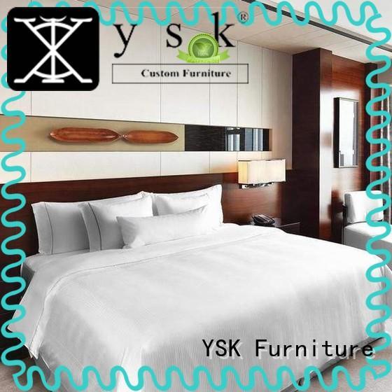 YSK Furniture luxury hotel room furnishings interior project