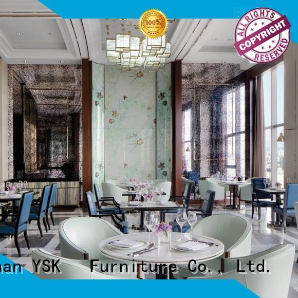 YSK Furniture wooden custom restaurant furniture high quality ship furniture
